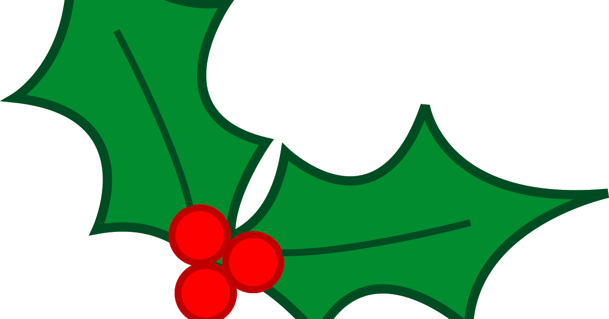 Mistletoe Clipart Holly Sprig, Mistletoe Holly Sprig
