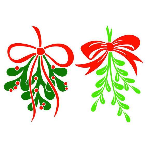 Mistletoe clipart svg, Mistletoe svg Transparent FREE for ...