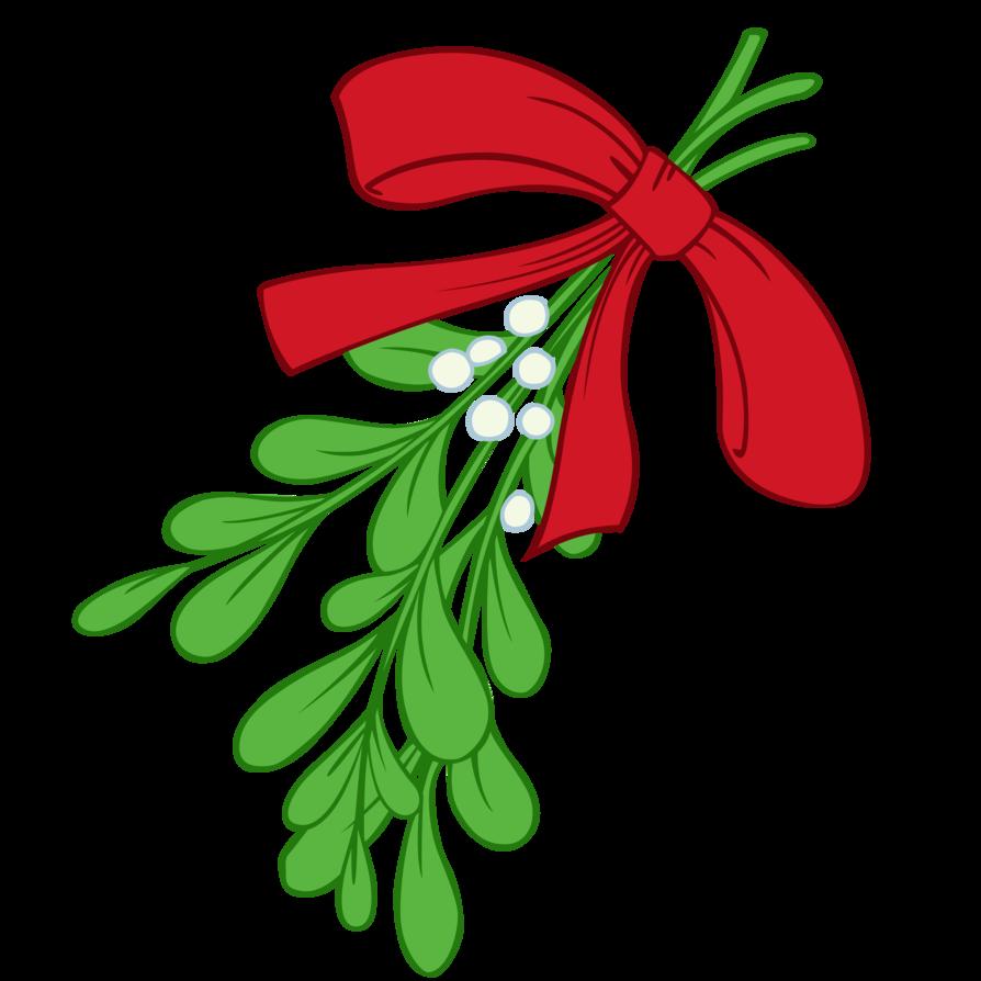 Mistletoe clipart vector, Mistletoe vector Transparent ...