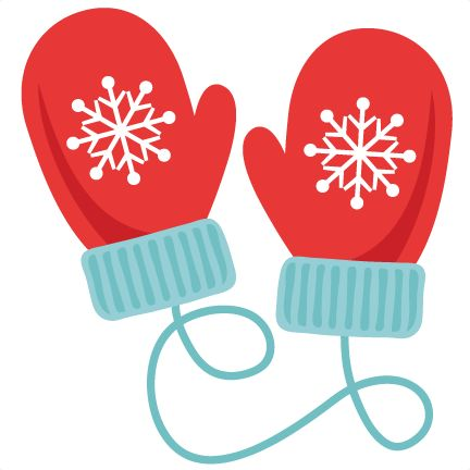 Mittens clipart. The best christmas gloves
