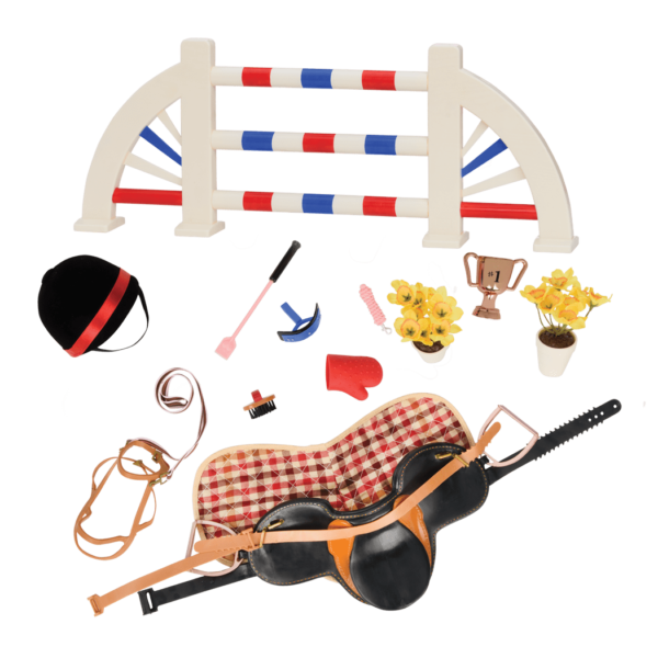 Equestrian style set our. Mitten clipart accessory