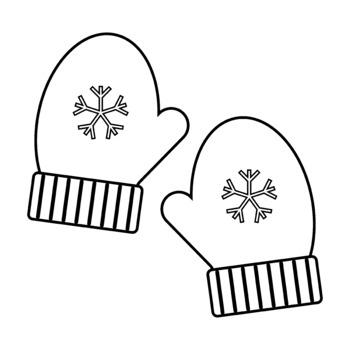 Clip art by thinkingcaterpillars. Mittens clipart mittons