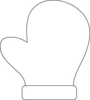 Mittens clipart construction paper. Make a handprint mitten