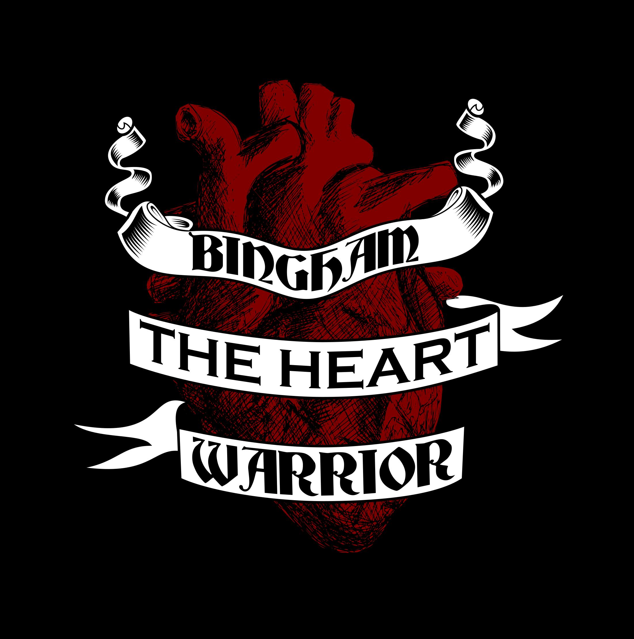 Warrior clipart little warrior. Bingham the heart items