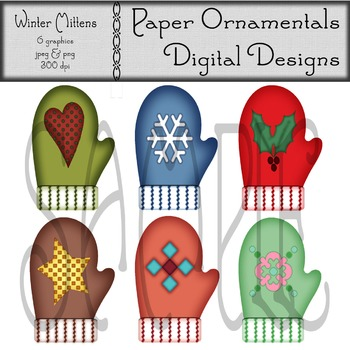 Mittens clipart items. Clip art or winter