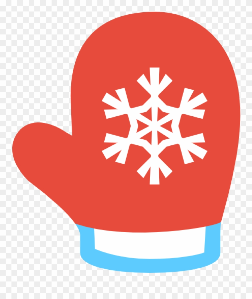 Mittens clipart holiday. Red christmas