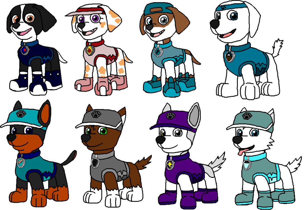 Mittens clipart attire. Paw patrol outfits sports