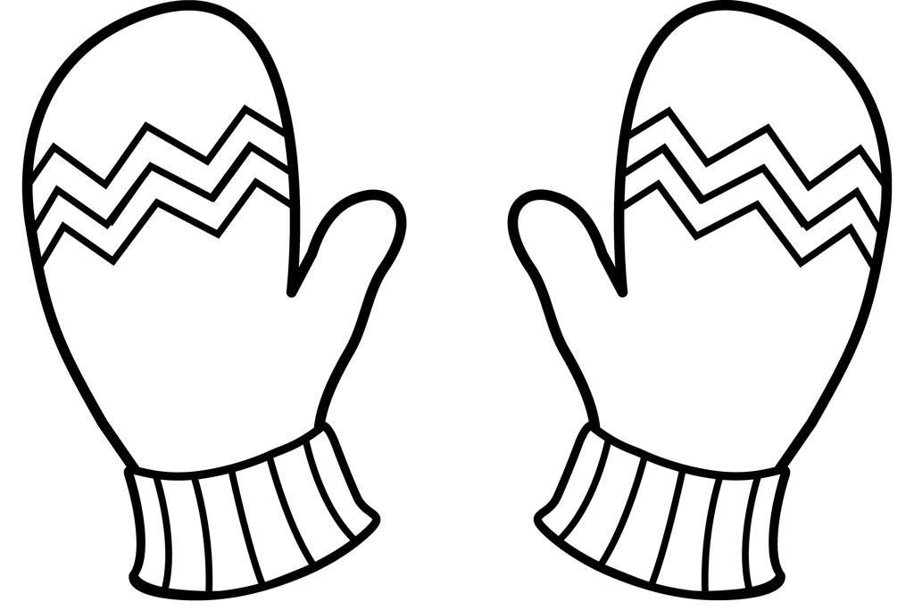 Mitten p pictures free. Mittens clipart simple
