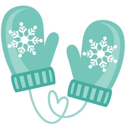 Hat and clip art. Mittens clipart cute