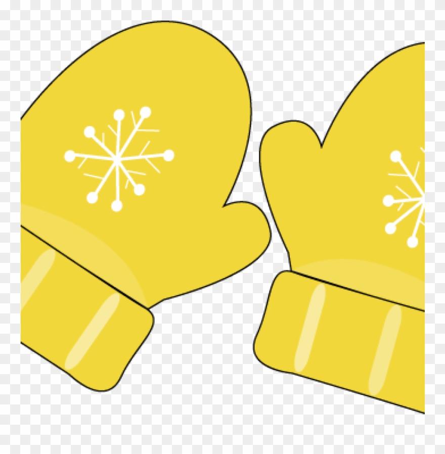 Mittens clipart yellow. Mitten clip art images