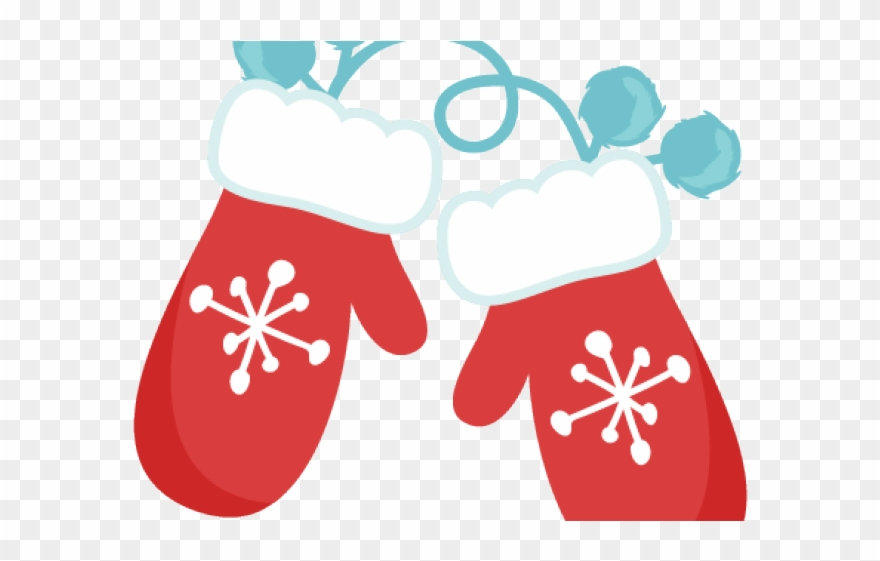 Red mittens png download. Winter clipart mitten