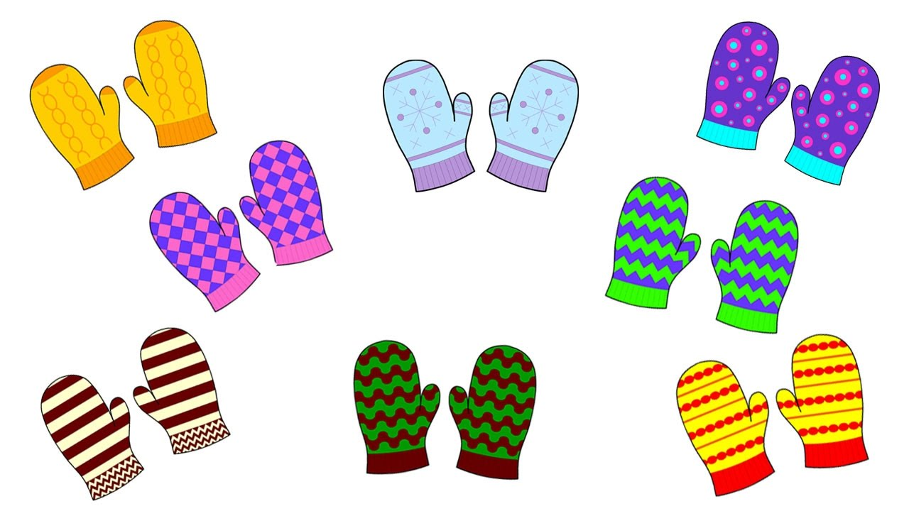 Mittens clipart construction paper. Mitten craft and pre