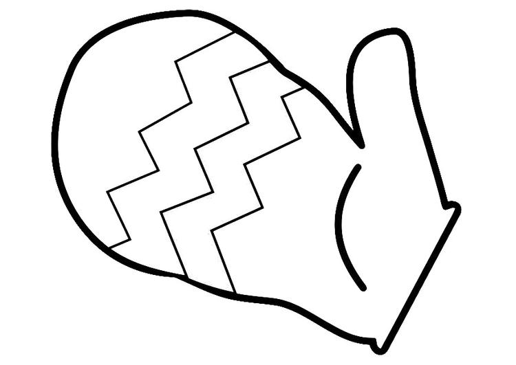Free mitten outline download. Mittens clipart drawing