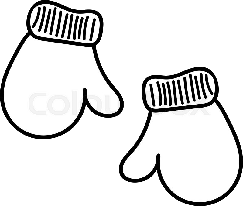 Mitten at getdrawings com. Mittens clipart drawing