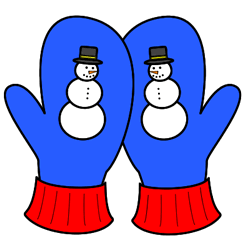 Mittens clipart snowman. Pin on winter