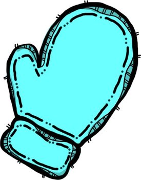Oodles of doodles winter. Mittens clipart teal