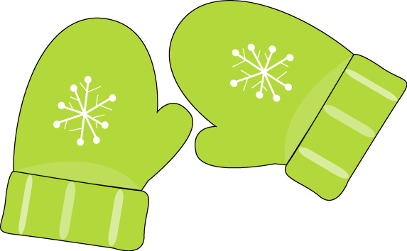 Green cliparts zone . Mittens clipart winter thing