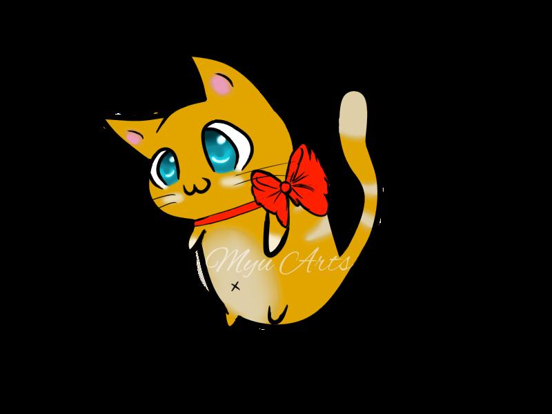 Mascot by mittensempawrium on. Mittens clipart yellow