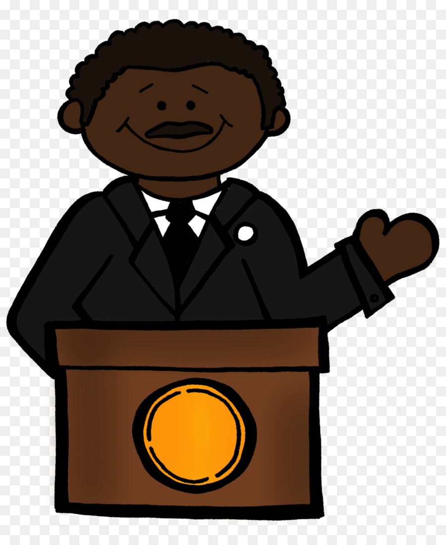 Mlk clipart. I have a dream