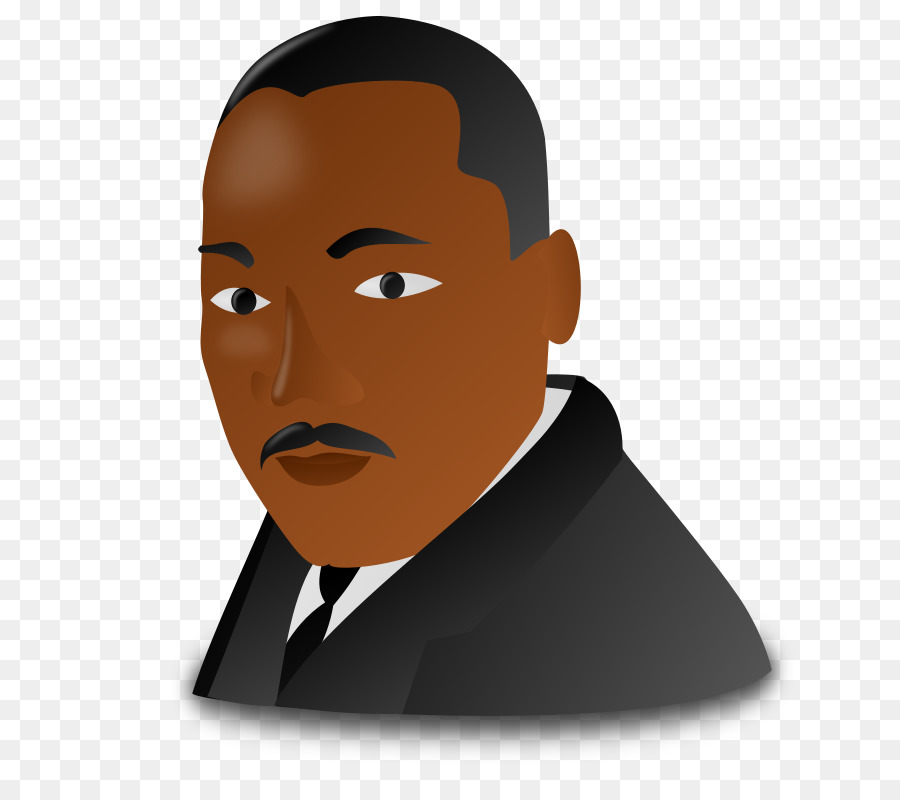Martin luther king jr. Mlk clipart cartoon version