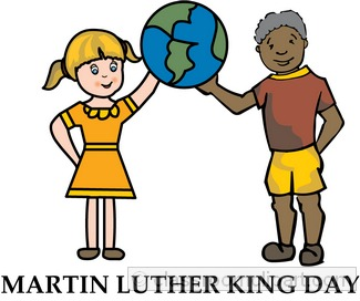 Free martin luther king. Mlk clipart child