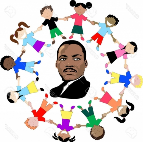 Dr martin luther king. Mlk clipart child