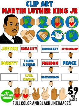 Mlk clipart community resource. Martin luther king activities