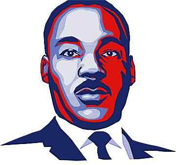 Free martin luther king. Mlk clipart idea
