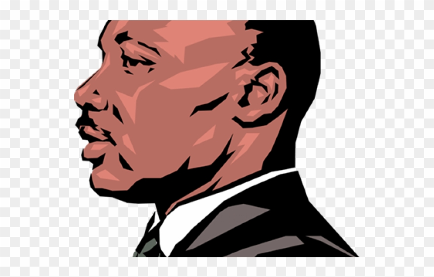 Martin luther king drawing. Mlk clipart logo