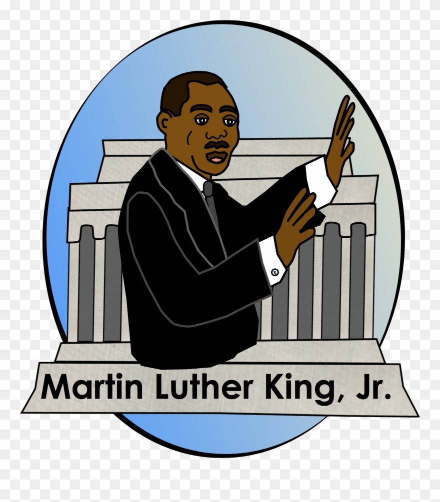 Mlk clipart name. Martin luther jr clip