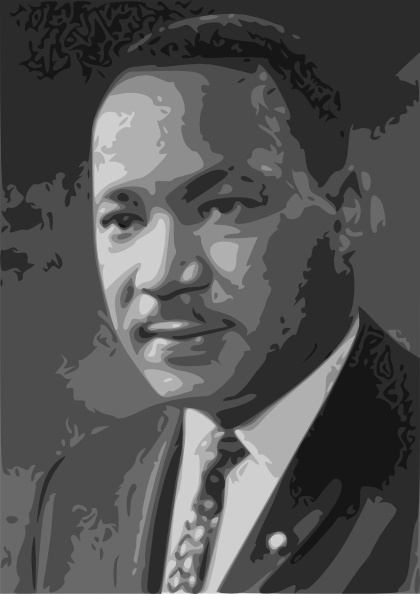 Martin luther king jr. Mlk clipart vector