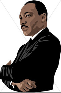 Mlk clipart vector. Animated martin luther king