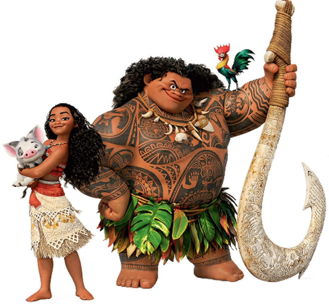 Moana clipart. Best of collection digital