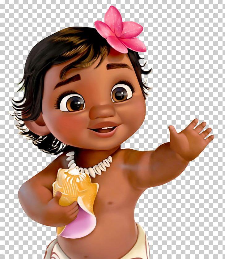 Moana clipart animated baby. Birthday party child the