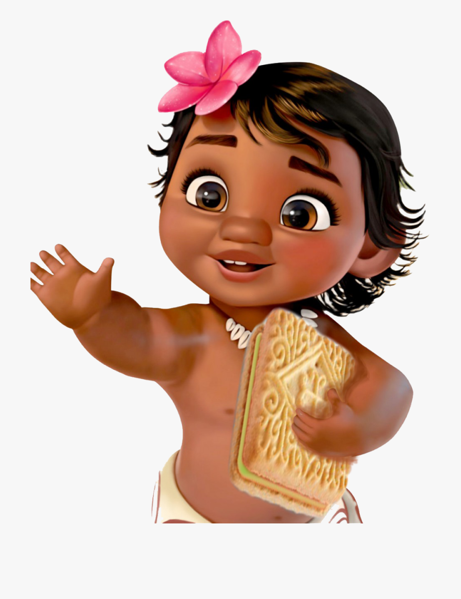 Moana clipart animated baby. Picture invitation template free