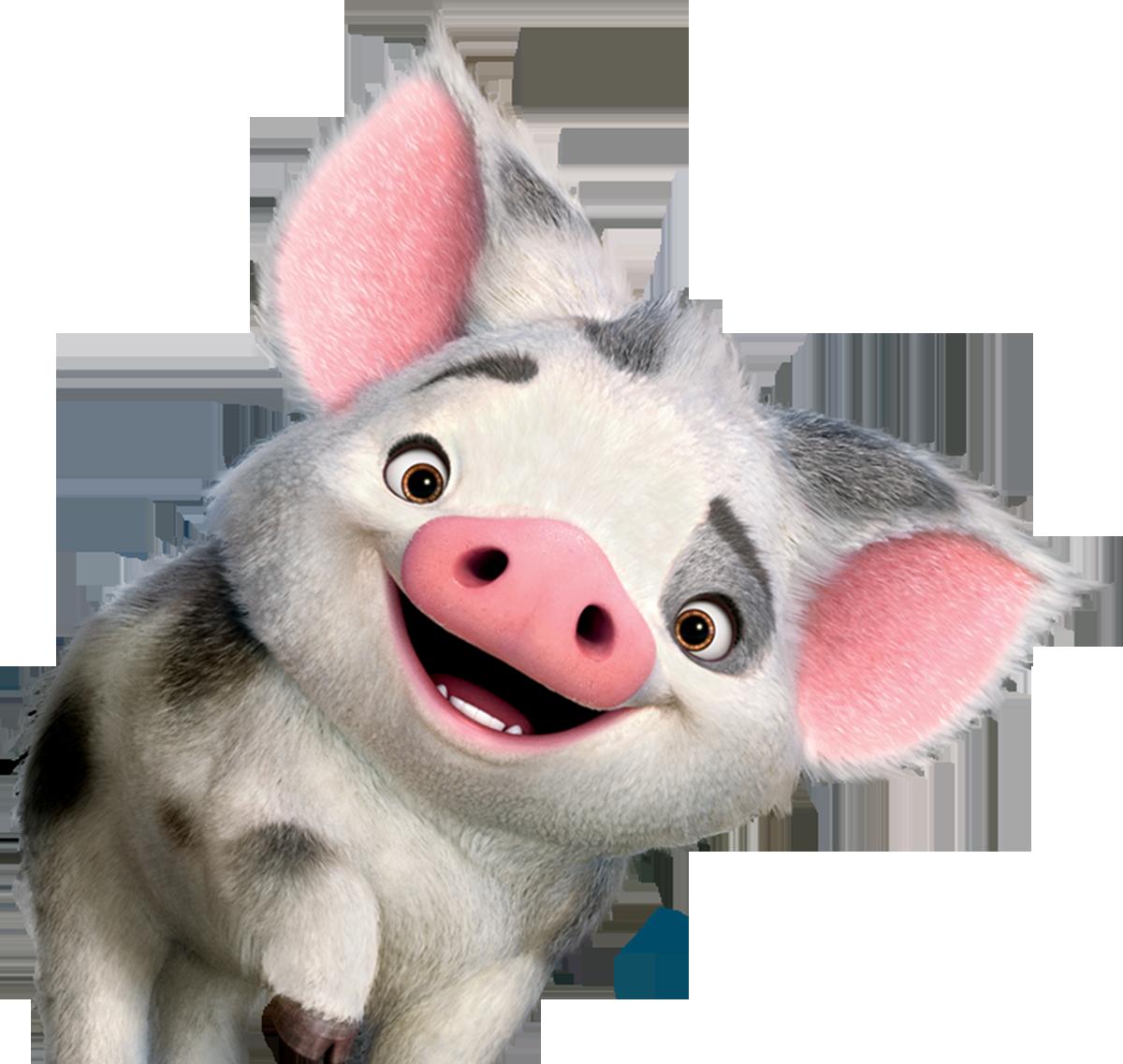 Moana clipart character animal disney. Afbeeldingsresultaat voor pua pinterest