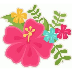 Silhouette design store view. Moana clipart detailed flower