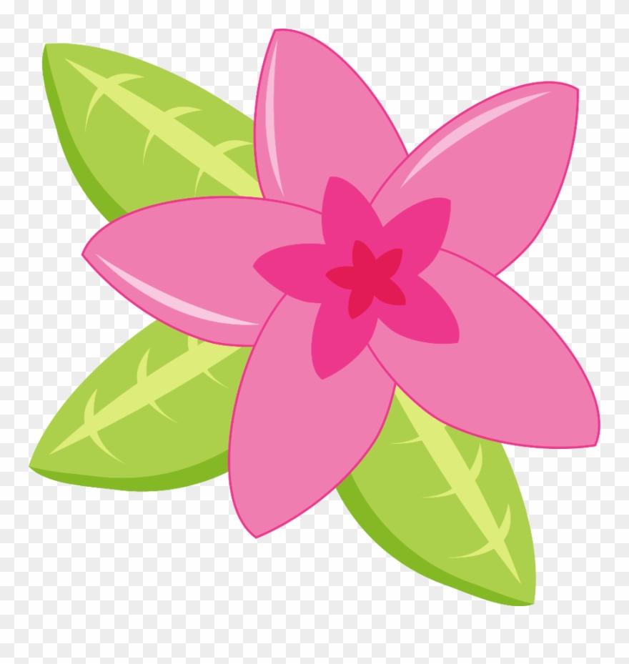 Moana clipart detailed flower. Pink flor de png