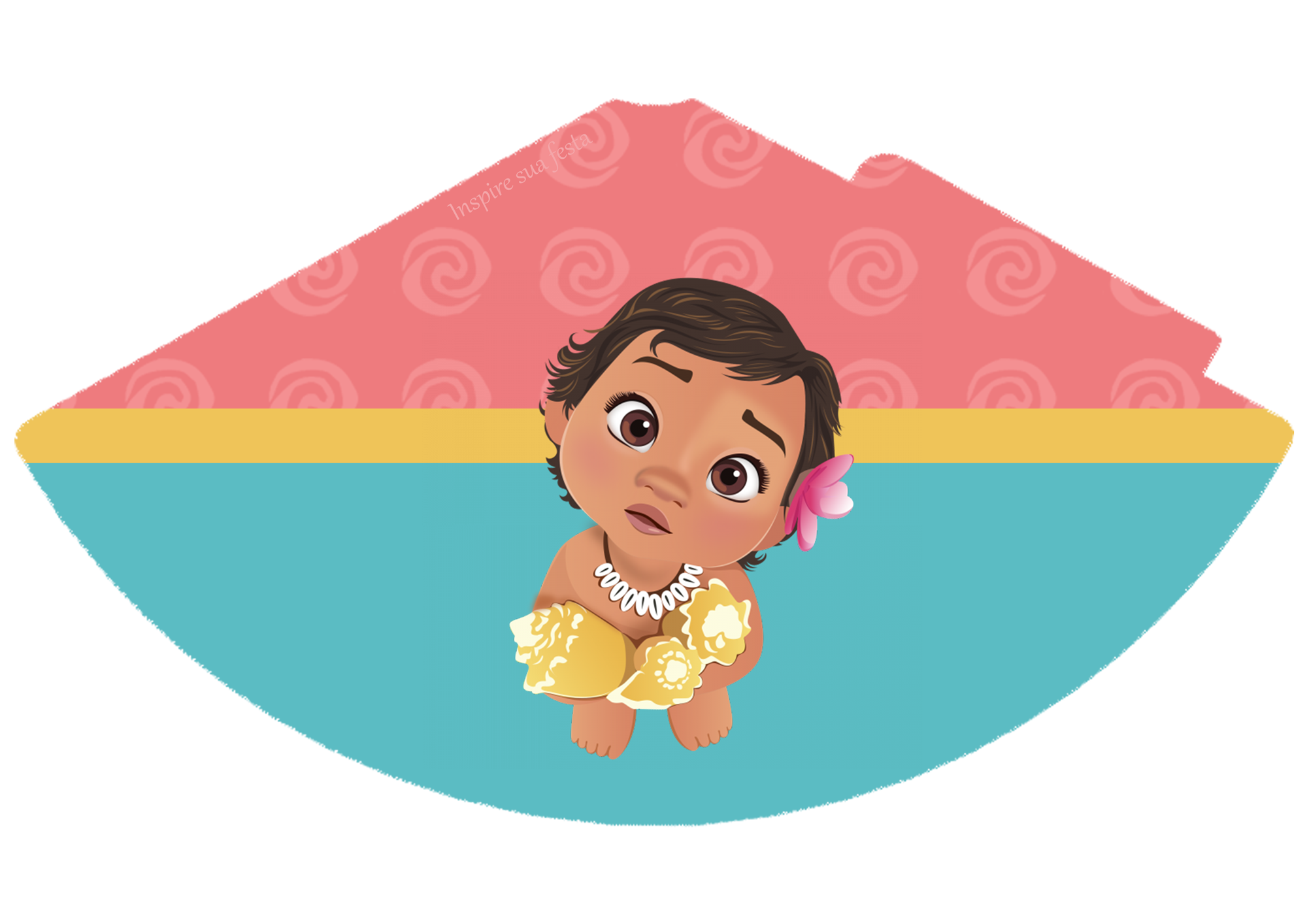 Baby personalizados gratuitos inspire. Moana clipart oar