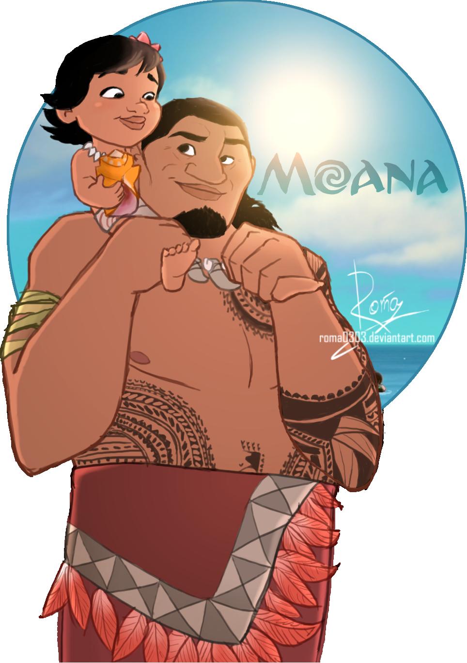 Moana clipart polynesian man, Moana polynesian man Transparent FREE