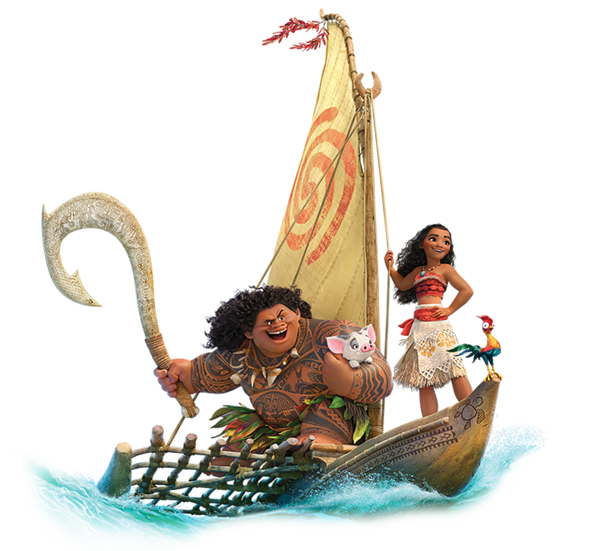 Transparent png pictures free. Moana clipart ship