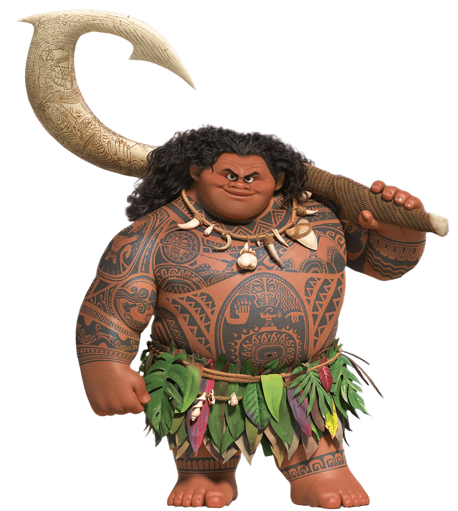 Maui png stickpng. Moana clipart transparent background