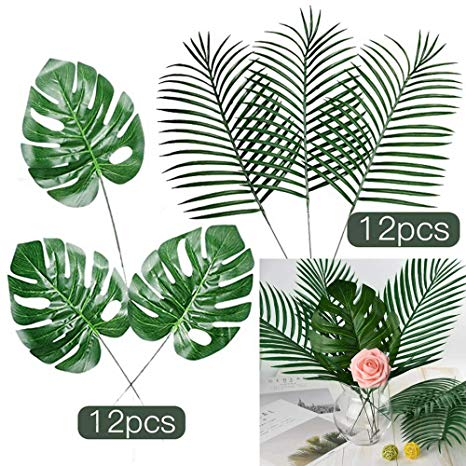 Moana clipart tropical plant. Fepito pcs large artificial