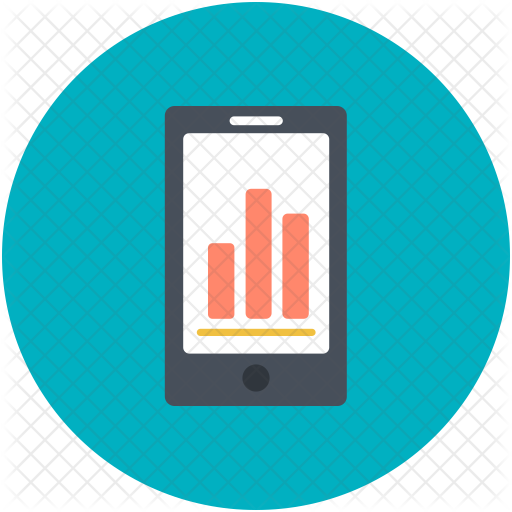 Business finance icons in. Mobile icon png