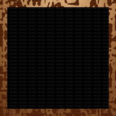 Brown mod vintage border. Modern frame png