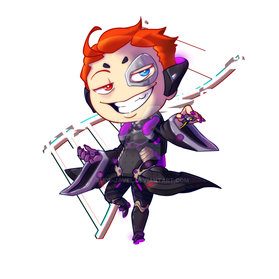 Moira overwatch png. Fan art chibi by