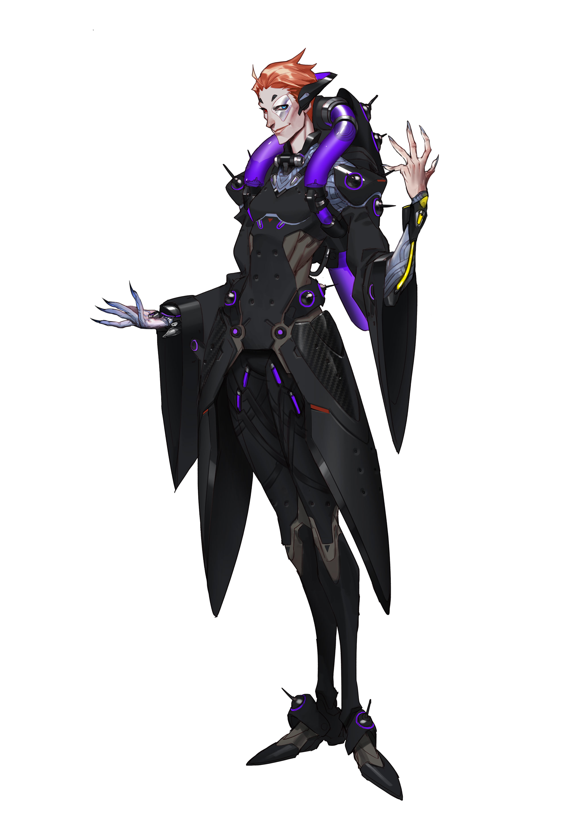Moira overwatch png. Character profile wikia fandom