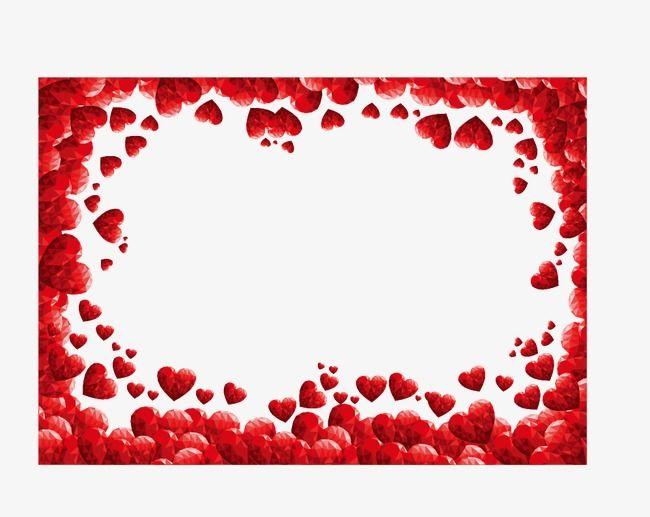 Um cora o vermelho. Moldura coração
