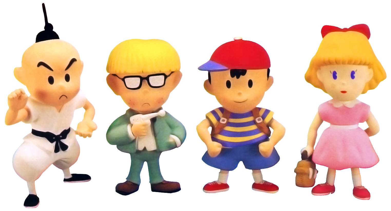 Mole clipart earthbound. Game giant bomb ness