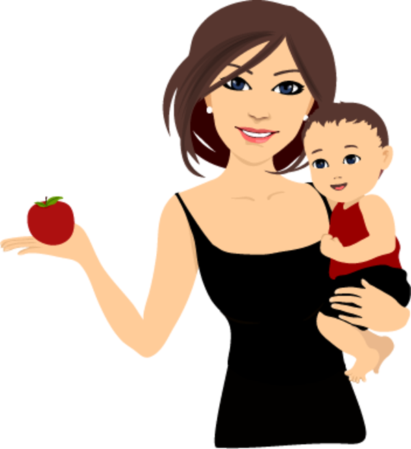mom clipart fitness